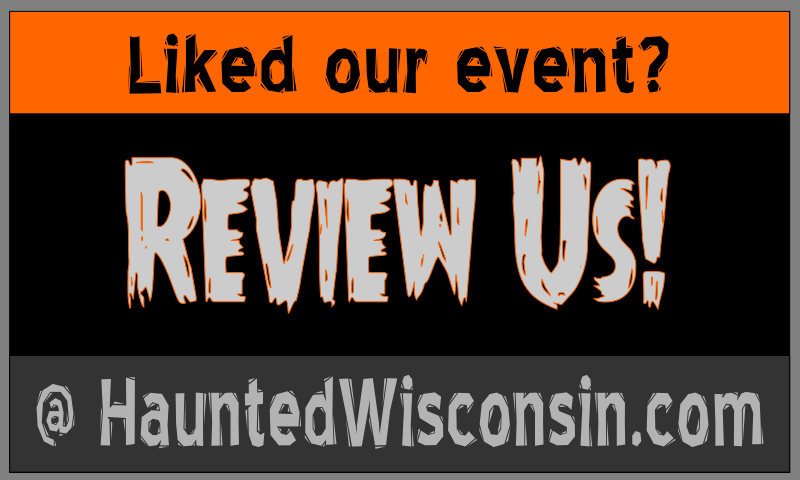 Review Us on HauntedWisconsin.com