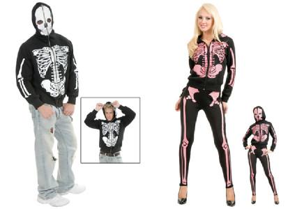Men's & Women's Skeleton Hoodie's