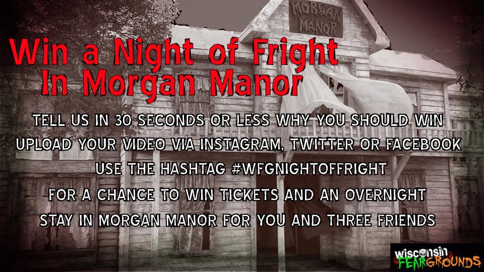 Win a Night of Fright in Morgan Manor