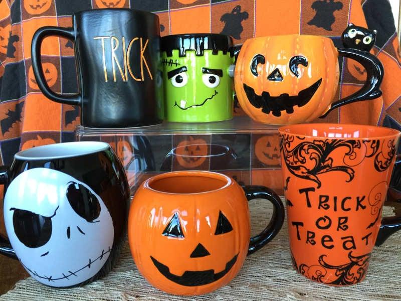Halloween mug collection