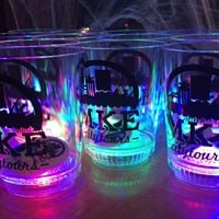 Light up glassware