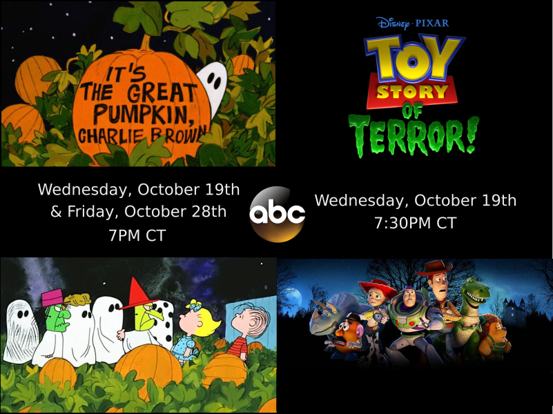 Halloween cartoons on ABC