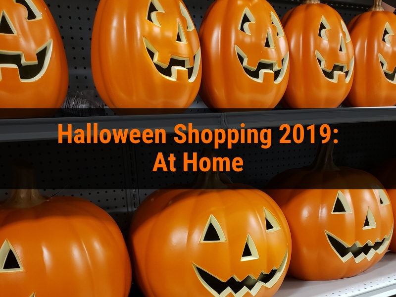 Halloween shopping 2019: At Home