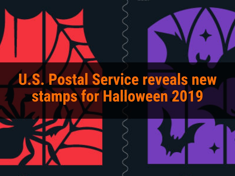 U.S. Postal Service reveals new stamps for Halloween 2019