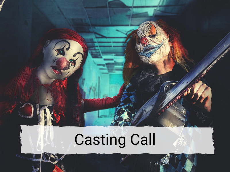 Schuster's Haunted Forest casting call