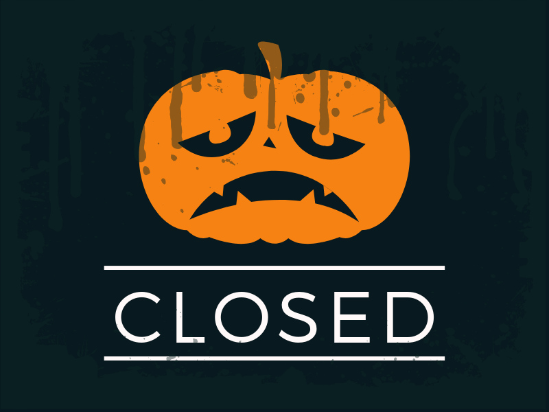 Farewell to these spooky haunts
