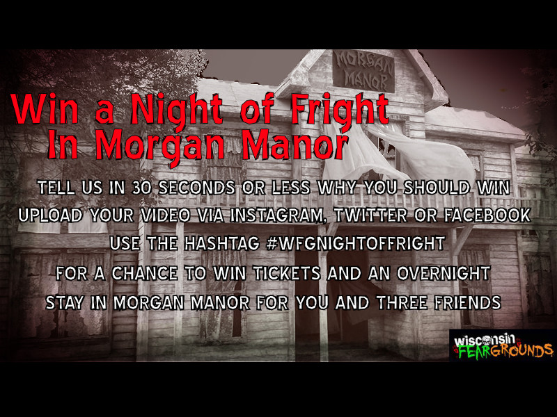 Win a Night of Fright in Morgan Manor
