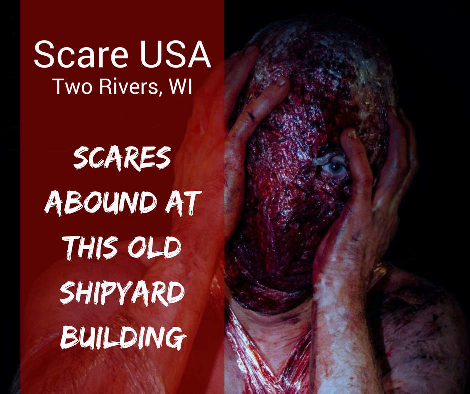 Scares abound at this old shipyard building